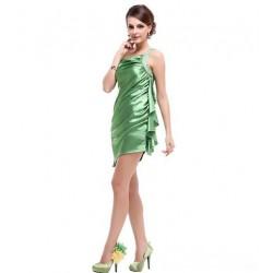 1cc968d709d luxusní zelené krátké společenské šaty M