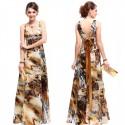 barevné luxusní společenské šaty M