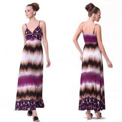 dlouhé barevné společenské šaty S-L
