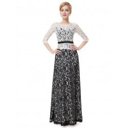 luxusní dlouhé společenské šaty pro matku nevěsty Alizé XXL